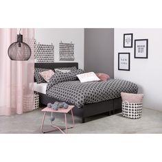 Met behulp van pasteltinten creëer je rust in je slaapkamer. #pastel #slaapkamer #interieur #kwantum