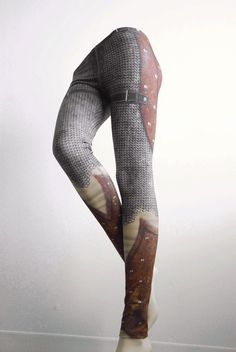 Hey, I found this really awesome Etsy listing at https://www.etsy.com/listing/159489334/crusader-leggings-size-l-printed