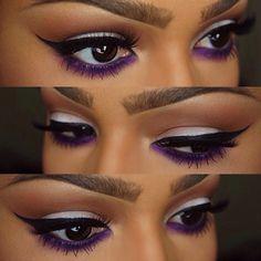 Sapphire Eyeliner — sugarpillcosmetics: Alluring purple eyes by...