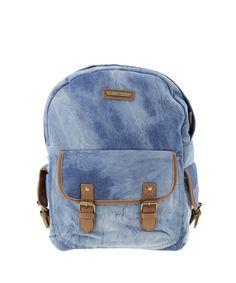 Mochila Jeans BlueMan Azul Médio - cea