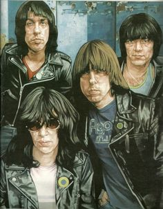 The Ramones por Chris Kasch