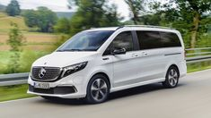 Mercedes EQV is an electric luxury van with 252 miles of range