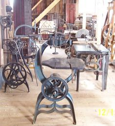 Foot Powered Band Saw