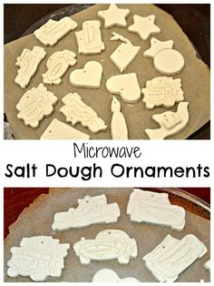 microwave salt dough recipe for Disney CARS ornaments and whatever else you want to make!