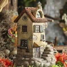 Fairy Garden Stone and Oak Cottage #fairygarden #factorydirectcraft