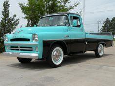 Fully restored rare original style Dodge D100 sweptside pickup truck. Runs great. Powerful Powerdome HEMI V8 engine, push-button typewriter style transmissio...