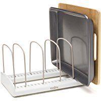 YouCopia 15017 StoreMore Bakeware Rack, White