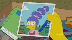 Good Grades, Futurama, Lisa, Evergreen, Terrace, The Simpsons, Clouds, Backgrounds, Balcony