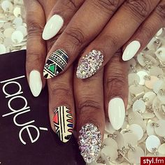 shine + azteck + white