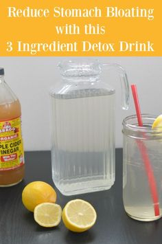 debloat 3 ingredient detox drink