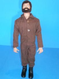 This vintage GI Joe guy reminds me of my cousin Chris when we were little. He had them all <3