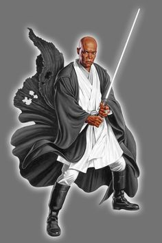 White Lantern Mace Windu by Lord-Lycan on DeviantArt