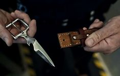 effin awesome ~ Bowen Belt Knives | Cool Material