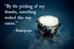 By the pricking of my thumbs - Macbeth Hypertext