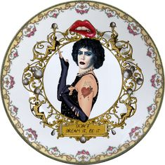 The Rocky Horror Picture Show - Vintage Porcelain Plate - Serie - #0607 by ArtefactoStore on Etsy