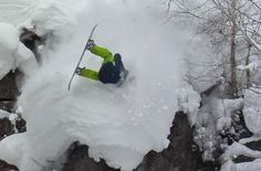 Check out some horrendous wipeouts from the new Snowboard film, Cooking with Gas. These guys deserve a medal! The slam in the concrete . Adventure Is Out There, Slammed, Snowboarding, To Go, Epic Fail, Cool Stuff, World, Outdoor, Cooking