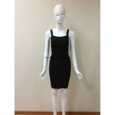 Herve Leger Black Halter Sexy Bandage Dress H081LB