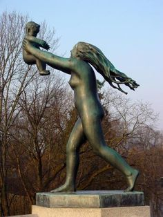 Vigeland Park, in Oslo. Of all art forms, I love statues the most. This park provides an amazing perspective of the human spirit.