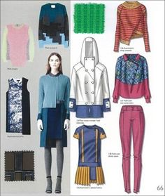 FASHION VIGNETTE: TRENDS >> A+A - CONTEMPORARY WOMENS . A/W 2014-15