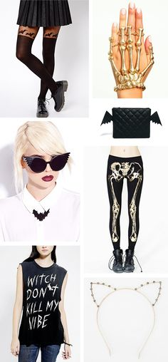 Wicked Glam, Halloween Style! Via Sequin Crush | Halloween Fashion