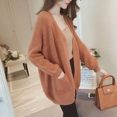Buy FR Open-Front Waffle-Knit Cardigan | YesStyle