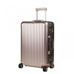 Valise en aluminium rigide -Rimowa - Electronic TAG 4 roues - 75cm Topas