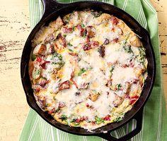 Bacon and Potato Frittata