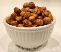 Crunchy Garbanzo Bean Appetizer: Recipe - Finding Our Way Now