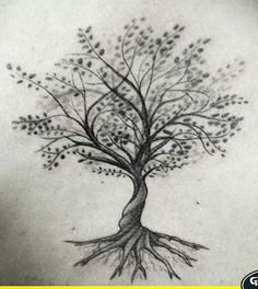 26 Trendy Family Tree Tattoo On Back InkYou can find Tattoos and more on o. Tree Branch Tattoo, Tree Tattoo Back, Tree Tattoos On Arm, Tree Tattoo With Roots, Tattoos Of Trees, Life Tree Tattoo, Bodhi Tree Tattoo, Wrist Tree Tattoo, Cat Tattoo
