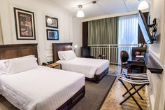 Designed in a style that blends old-world with hi-tech, the Superior rooms are very comfortably furnished, including bathrooms with a large shower space and a choice of a king-size bed or twin beds but have limited views.