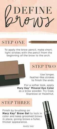 Ready to raise some brows this summer? Expert makeup tip: Sparse brows can be filled in to make them look thicker. Click to learn how! | Mary Kay