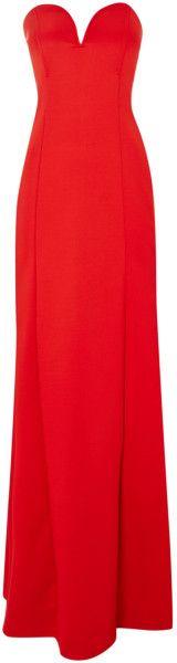 TFNC Lace Insert Maxi Dress - Lyst