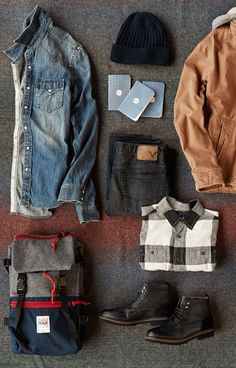 Outfit grid - Day away from home