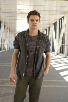 Sebastian Stan.  GREAT style! yeah, he's got edgar allan poe on his shirt i think.