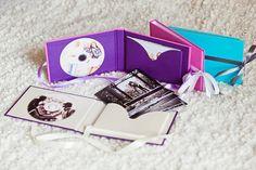 Wedding album & dvd by Olga Hudina, via Behance