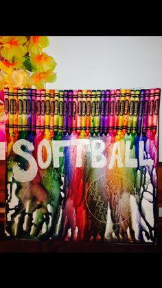 Softball Art Projects Google Search Crafts Baseball