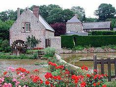 Veules-les-Roses - Seine-Maritime dept. - Haute Normandie région, France