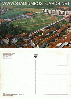 € 1,50 - code : ITA-058 - RACCONIGI  - stadium postcard cartolina stadio carte stade estadio tarjeta postal