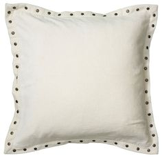 Amazon.com: Rizzy Home T05908 Solid Velvet with Self Flange Decorative Pillow, 18 by 18-Inch, White: Home & Kitchen