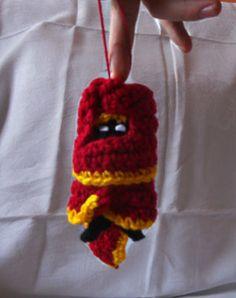 Tiny Journey Wayfarer Crocheted Plushie by WoolenWords on Etsy, €13.00