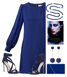Navy baby by amisha73 on Polyvore featuring moda, Goat, Imagine by Vince Camuto, Hobbs and Kenneth Jay Lane