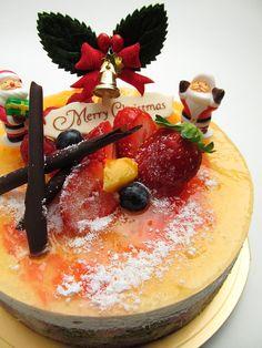 Kuchen, Weihnachten, Obst -
