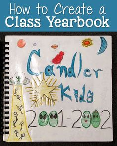 """Corkboard Connections: How to Create a Classroom Yearbook - Step-by-step directions and a free """"Letter to My Teacher"""" printable."""