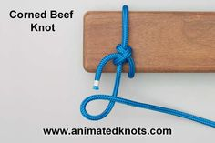 Butcher's Knot | How to tie a Butcher's Knot | Household Knots