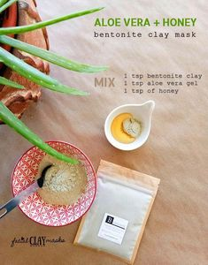 You won't find more of a dynamic #facemask duo that is antioxidant rich, bacterial fighting, and can even sooth sunburns while feeling soooo good. The combination of Aloe Vera and Honey creates a fast calming blend that is super fast drying and will make a marvelous addition to your skincare routine. Click here for the simple DIY Face Mask recipe that you can easily make at home.  #naturalskincare #organic #bentonite #facemasks #claymask #facialclaymasks # #AntiAgingMask Manuka Honey Face Mask, Harry Styles, Beauty Hacks Skincare, Skincare Routine, Bentonite Clay Mask, Cucumber Face Mask, Face Scrub Homemade, Honey Recipes, Clay Masks