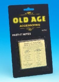 Old Age Past-It Notes £1.99