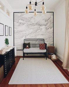 Toddler Rooms, Baby Boy Rooms, Baby Boy Nurseries, Baby Cribs, Baby Bedroom, Black Crib Nursery, Nursery Room, Nursery Decor, Build Dream Home