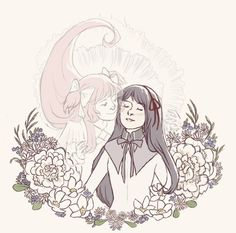 MadoHomu #1 Art Print