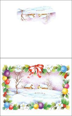 Christmas Card~ Click &print