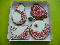 Пряничные наборы к 8 Марта - Кондитерская - Babyblog.ru